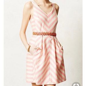 Anthropologie Striped Dress with Pockets